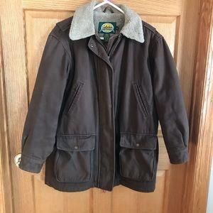 Cabelas fleece lined coat size Large